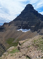 Flinsch Peak, Dawson Pass Trail - Pitamakan Pass Trail Loop, Glacier National Park