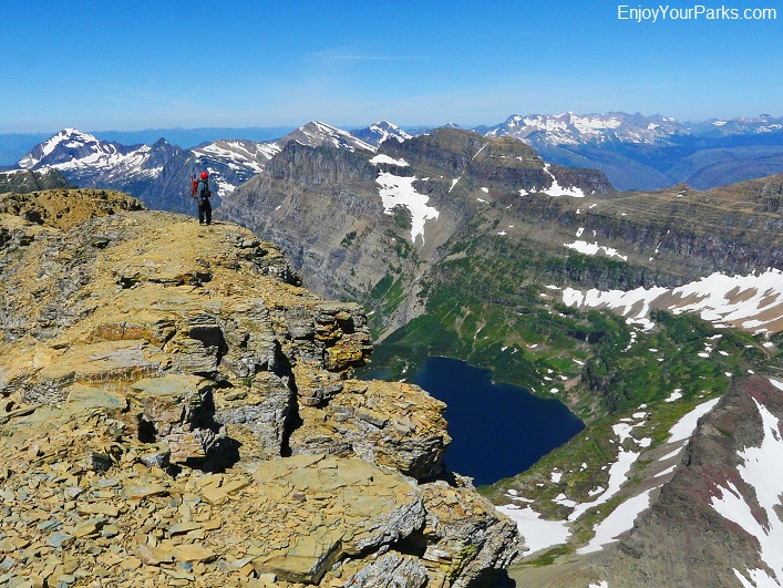 Reynolds Mountain Summit View, Glacier National Park