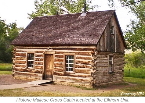 Maltese Cross Cabin, Elkhorn Unit, Theodore Roosevelt National Park