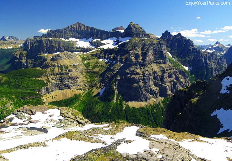 Thunderbird Mountain, Glacier National Park