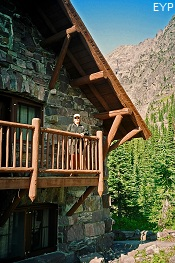 Sperry Chalet, Lake McDonald Area, Glacier National Park