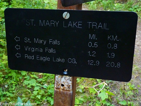 St. Mary Lake Trail, Glacier National Park