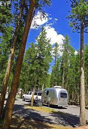 Madison Campground, Madison Junction Area, Yellowstone National Park