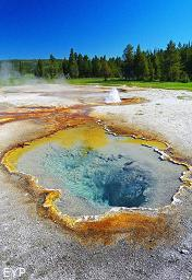 Geyser Pool, Yellowstone National Park