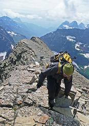 Mountain Climbing in Glacier National Park