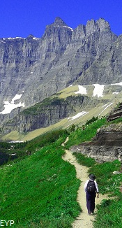 Iceberg Lake Trail, Glacier National Park