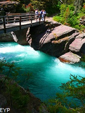 Saint Mary River, Saint Mary Falls, Glacier National Park