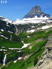 Clements Mountain, Going To The Sun Road, Glacier National Park