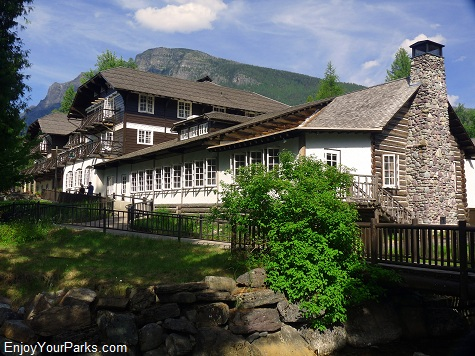 Lake McDonald Lodge, Lake McDonald Area, Glacier National Park