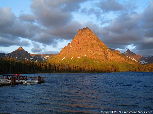 Sinopah Mountain, Glacier National Park