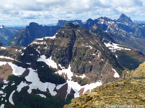 Mount Helen Summit View, Two Medicine Area, Glacier National Park