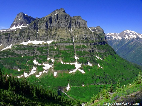 Mount Oberlin, Highline Trail, Glacier National Park
