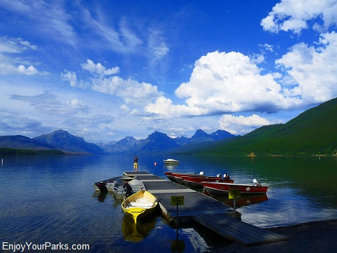 Apgar Village, Lake McDonald, Glacier National Park