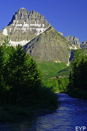 Mount Wilbur, Many Glacier Area, Glacier National Park