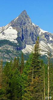 Fusillade Mountain, Going To The Sun Road, Glacier National Park