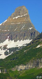 Reynolds Mountain, Going To The Sun Road, Glacier National Park