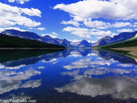 Lake Sherburne, Many Glacier Area, Glacier National Park
