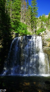 Rockwell Falls, Two Medicine Pass, Glacier National Park