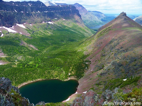 Cobalt Lake, Two Medicine Pass, Glacier National Park