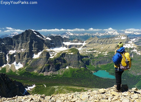 Summit of Allen Mountain, Glacier National Park