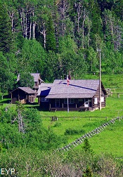 Belly River Ranger Station, Stoney Indian Pass Trail, Glacier National Park
