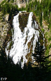 Paiota Falls, Stoney Indian Pass Trail, Glacier National Park