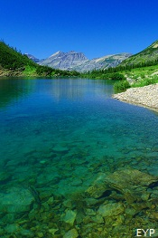 Stoney Indian Lake, Stoney Indian Pass Trail, Glacier National Park