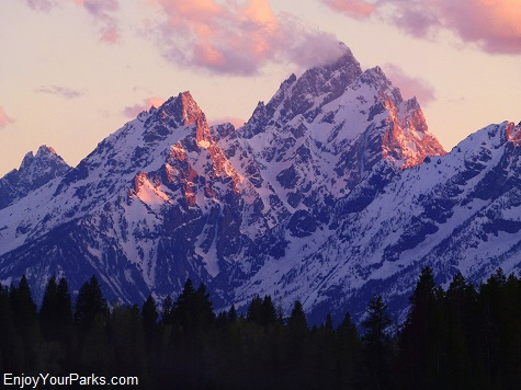 Teton Mountain Range, Grand Teton National Park