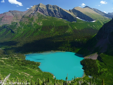 Grinnell Lake, Grinnell Glacier Trail, Glacier National Park