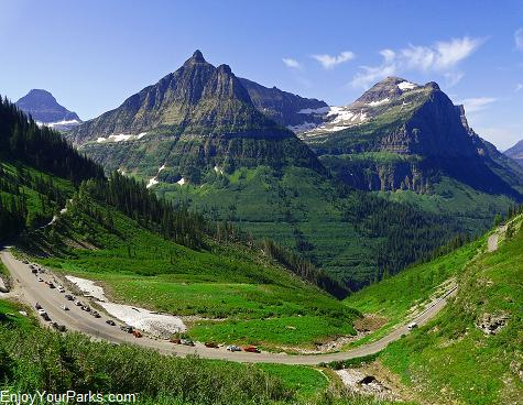 Big Bend, Going To The Sun Road, Glacier National Park