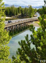 Fishing Bridge, Yellowstone Lake Area, Yellowstone National Park