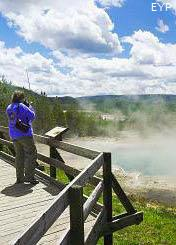 Norris Geyser Basin, Norris Junction Area, Yellowstone National Park