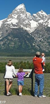 Teton Glacier Overlook, Grand Teton National Park